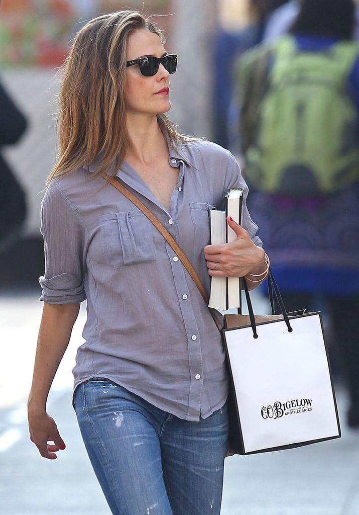 When She Made a Casual Shopping Trip Look Like the Loveliest Solo Afternoon Ever
