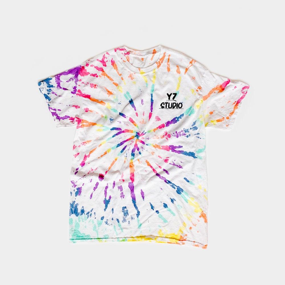 Y7 x American Tye Dye Pride Tee