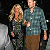 Jessica Simpson and Eric Johnson were out in NYC.