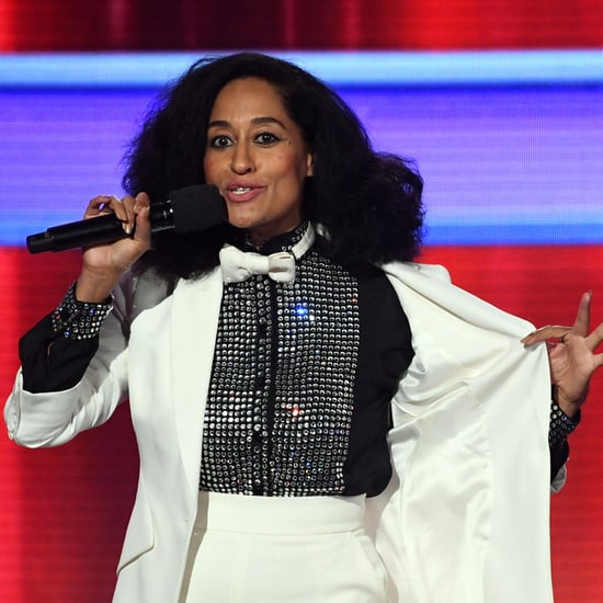 Tracee Ellis Ross Wearing Diana Ross's Suit at AMAs 2017