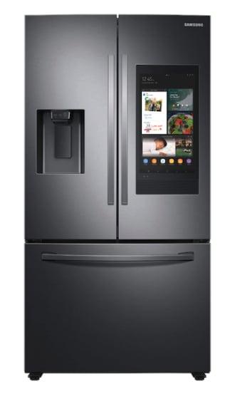 26.5 cu. ft. Large Capacity 3-Door French Door Refrigerator