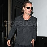 Brad Pitt and Courteney Cox Reunite At a Party in LA!