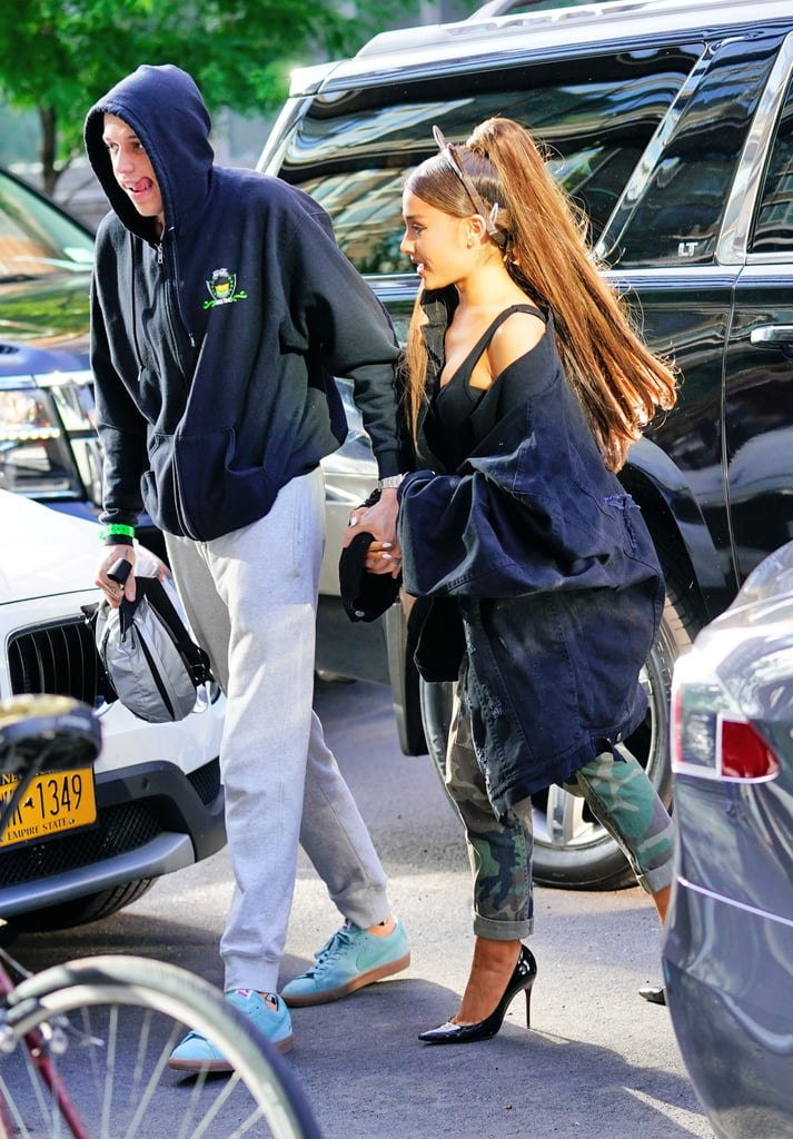Ariana Grande's Tattoo For Pete Davidson's Late Father 2018