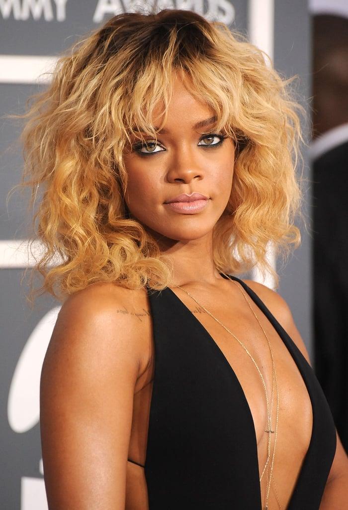 Rihanna's Blond Hair Color