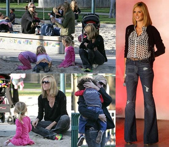 Heidi Klum in Germany's Next Top Model
