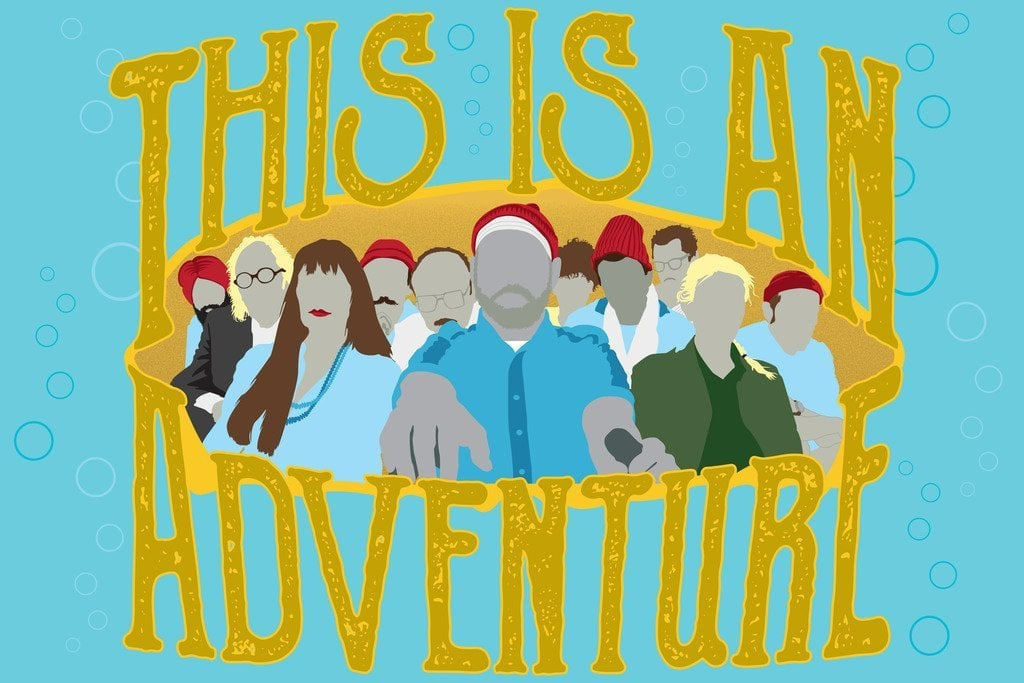 This Is An Adventure Minimalist Movie Poster