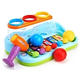 Huile Kids Musical Toy Xylophone Piano Pounding Bench