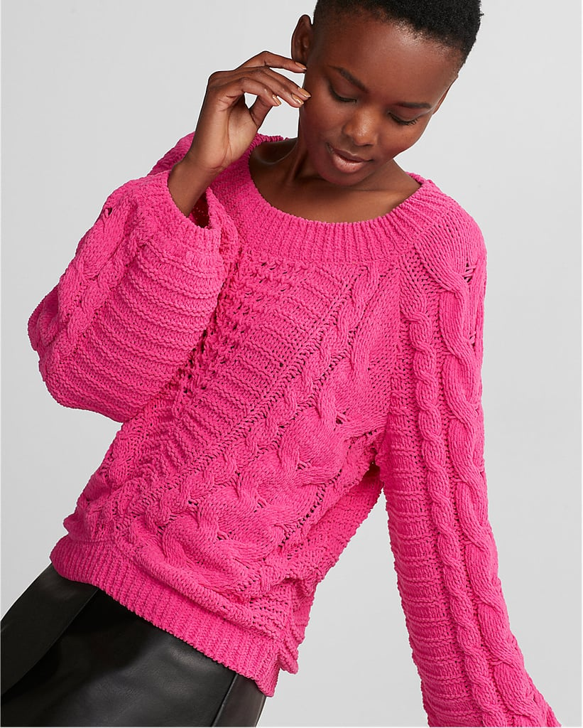 edb3d4ee5 Express Cable Knit Sweater