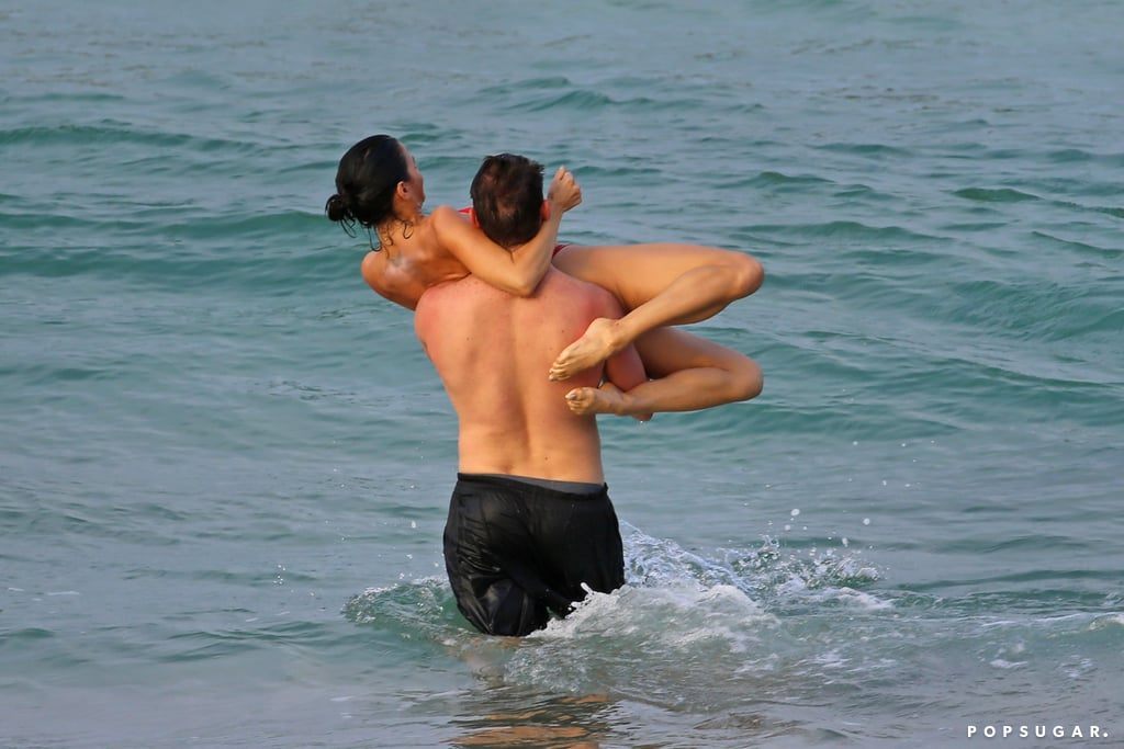 Channing Tatum and Jenna Dewan in Hawaii February 2017