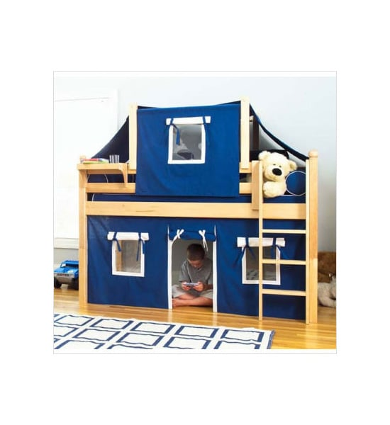Maxtrix Kids Twin Low Loft Bed