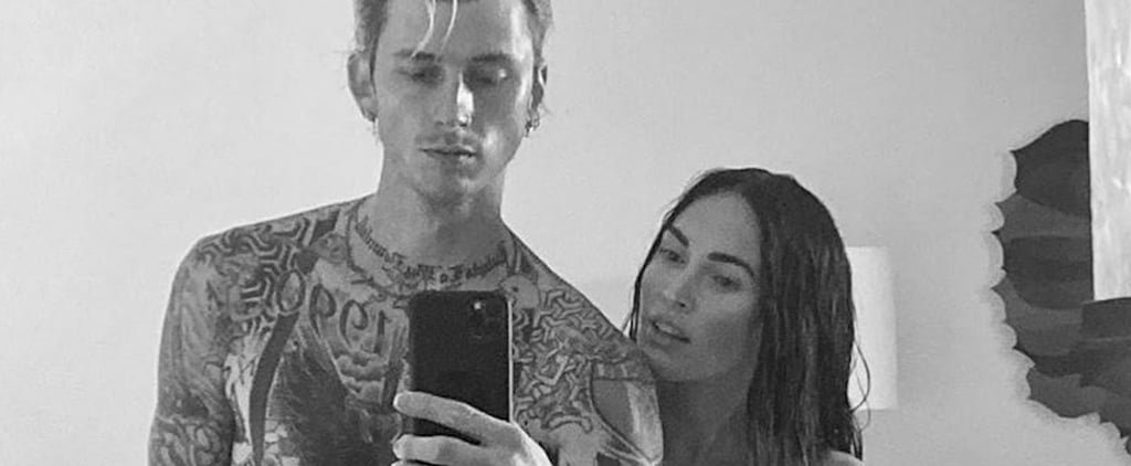 Megan Fox and Machine Gun Kelly Cute Pictures