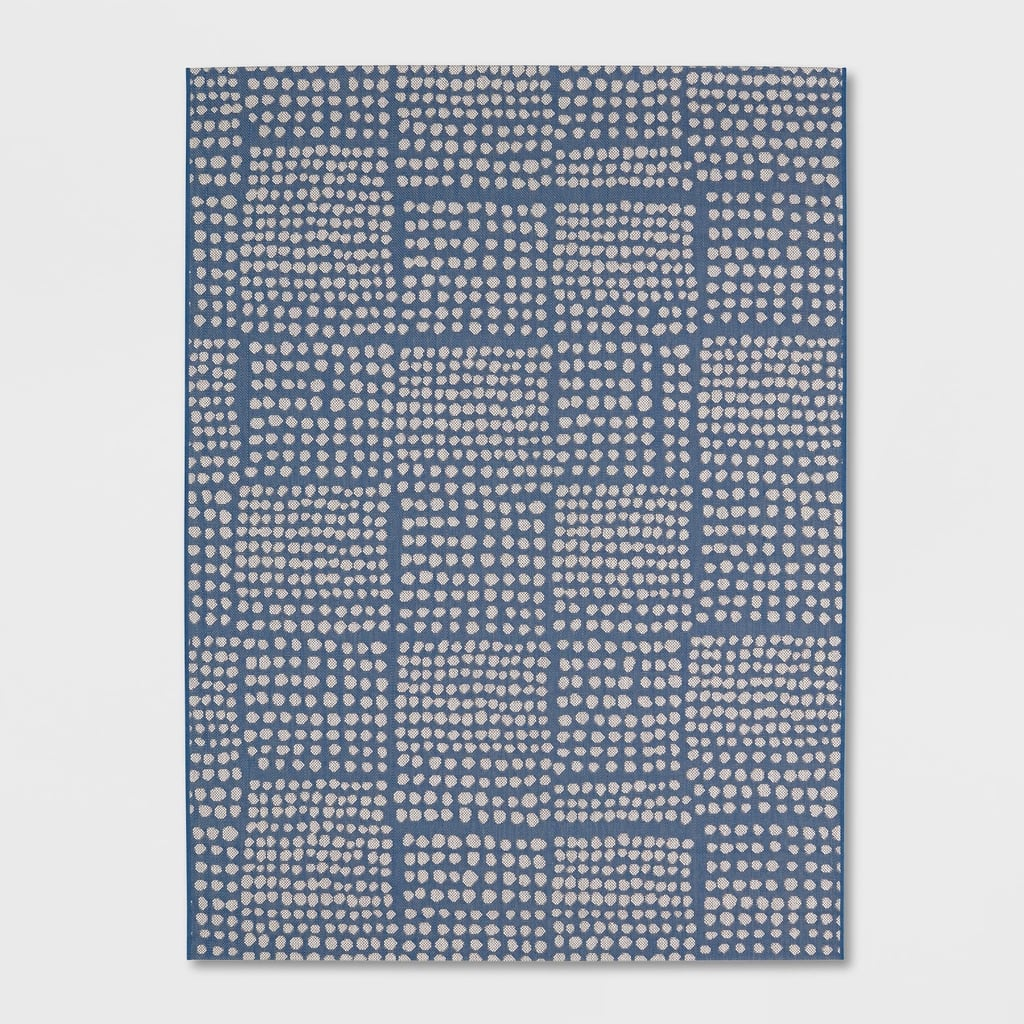 Dot Grid Outdoor Rug