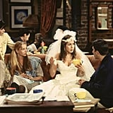 Rachel Could Rock a Wedding Dress in a Coffee Shop