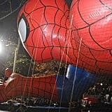 Spider-Man has been part of the Macy's Thanksgiving Day Parade since 1987.