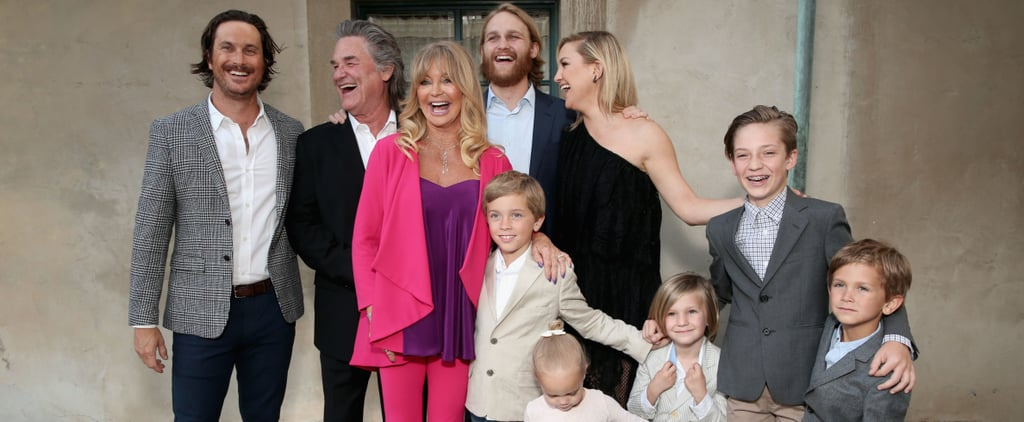 Kurt Russell and Goldie Hawn Family Photos