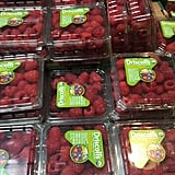 Organic Driscoll's Raspberries ($3-$6 — price varies due to season)