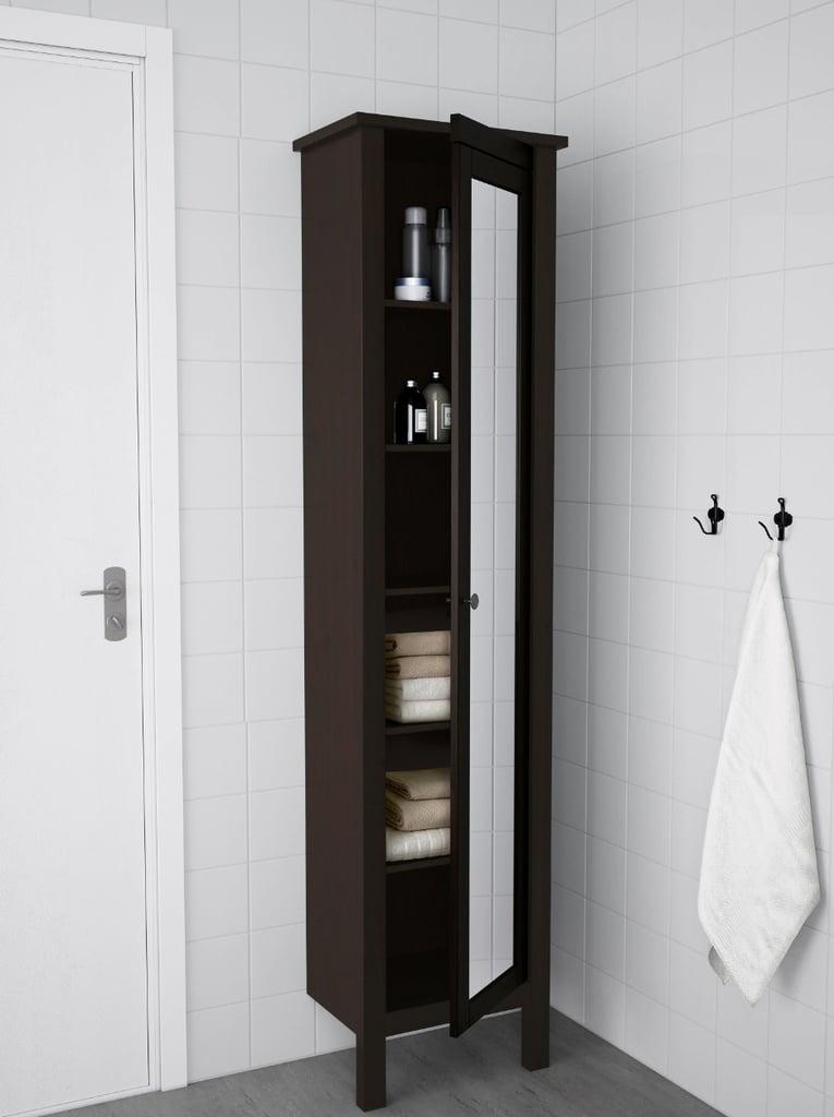 Hemnes High Cabinet With Mirror Door