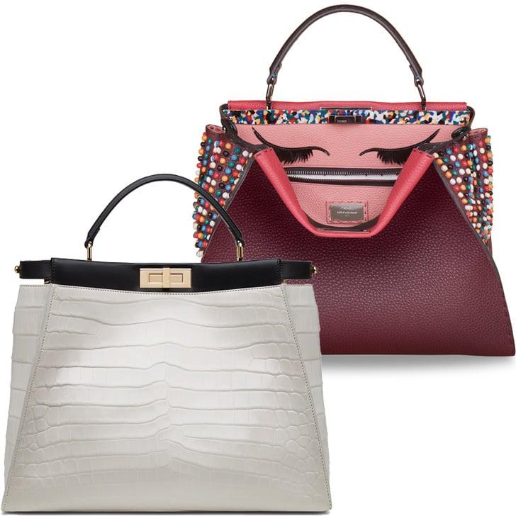 Fendi Peekaboo Project Bags With Cara Delevingne