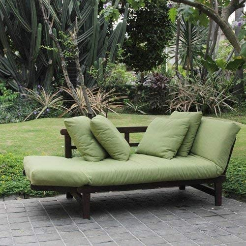 E-BigSales Outdoor Futon Convertible Sofa