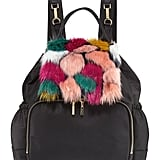 Milly Minis Faux Fur Diaper Bag Backpack