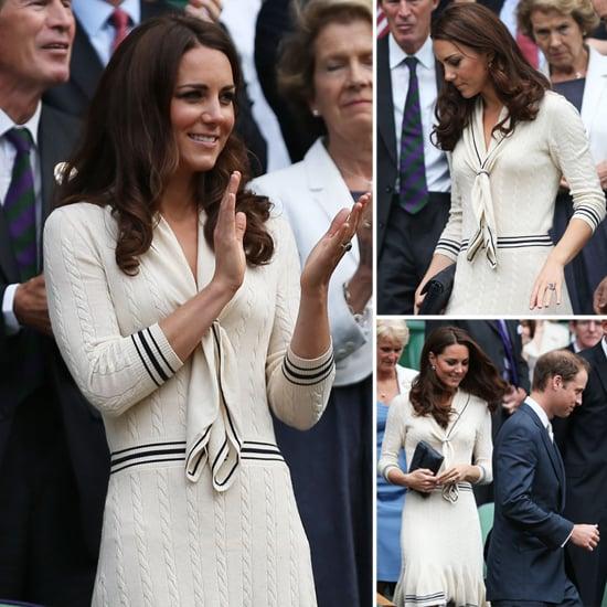 Kate Middleton's Alexander McQueen Wimbledon Dress