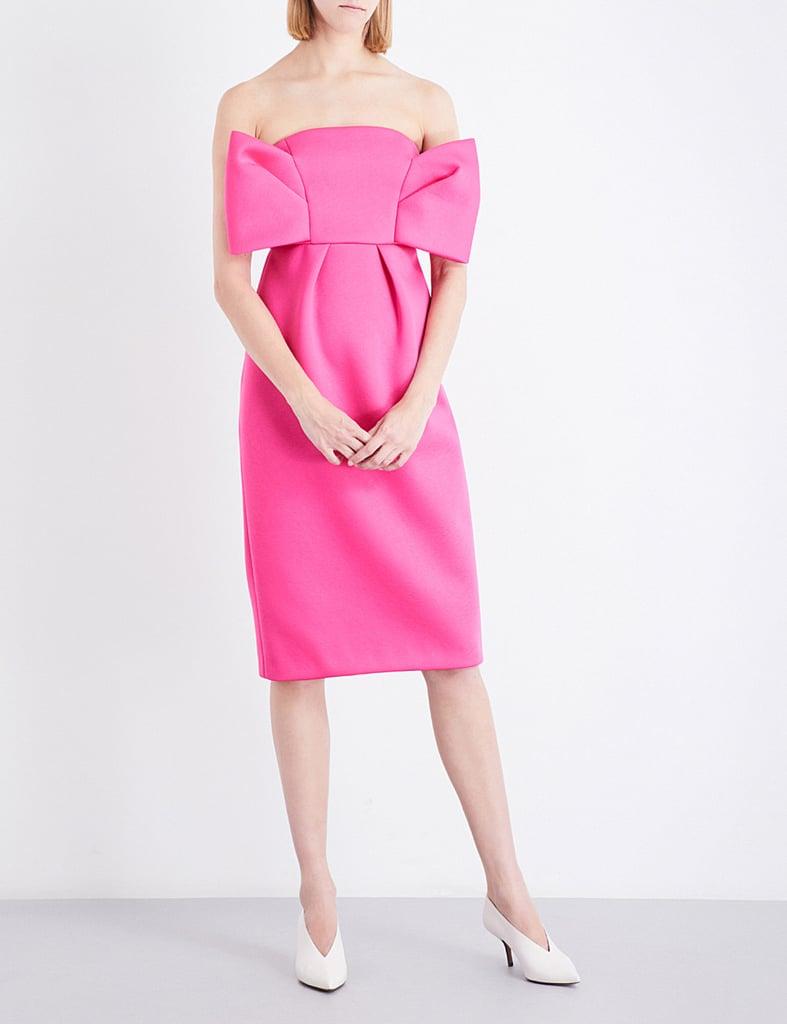 Delpozo Neoprene Dress