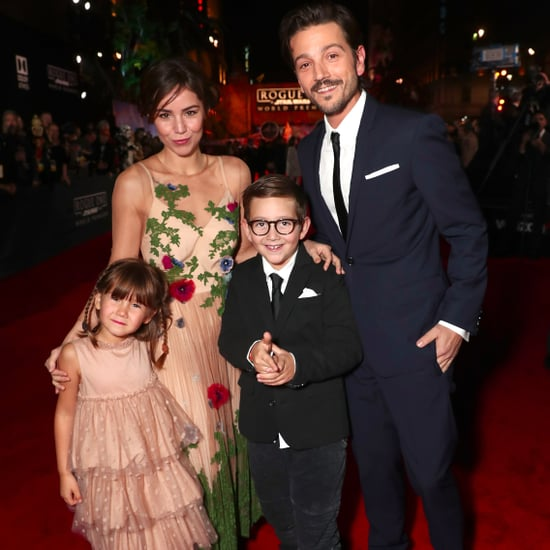 Diego Luna Brings Ex-Wife and Kids to the Rogue One Premiere