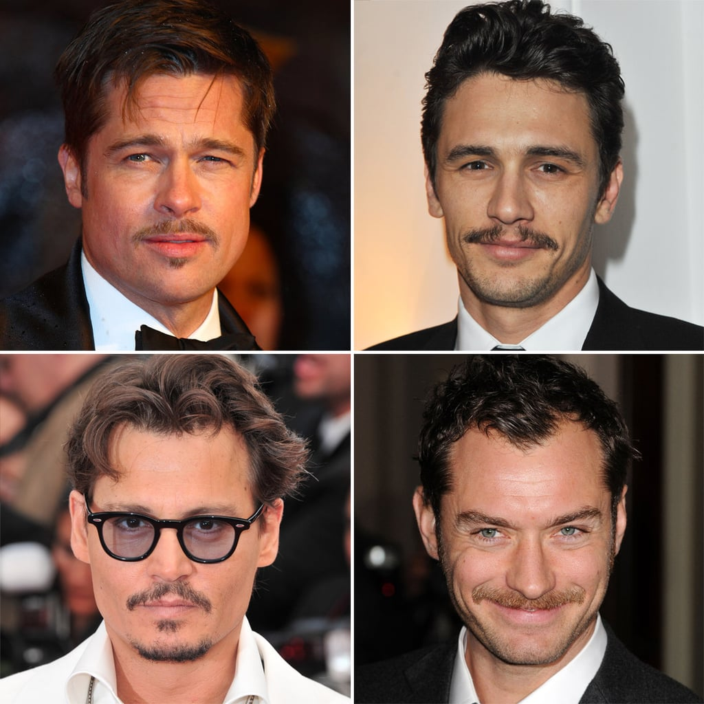 The Most Handsome Moustached Men of Hollywood