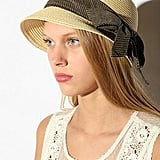 Urban Outfitters Braided Straw Bow Cloche ($29)