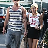 Miley Cyrus and Liam Hemsworth Reunite For a Loving LA Day