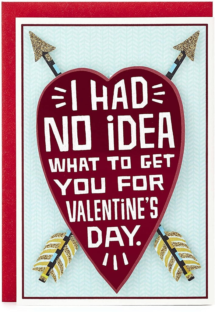 Hallmark Heart and Arrows Funny Valentine's Day Card