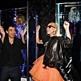 Lady Gaga's Outfit Haus of Gaga Exhibit Opening May 2019