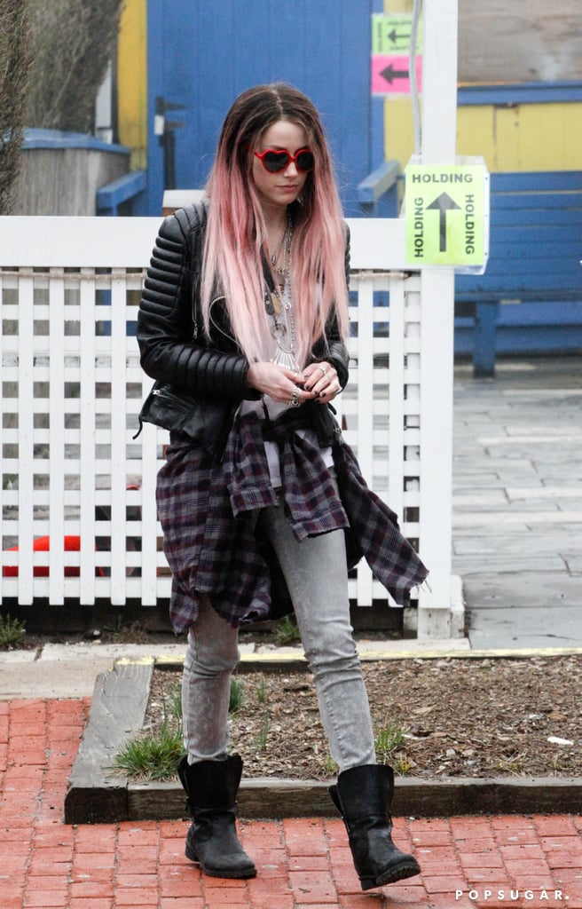 Amber Heard Has Pink Hair Now — See For Yourself!