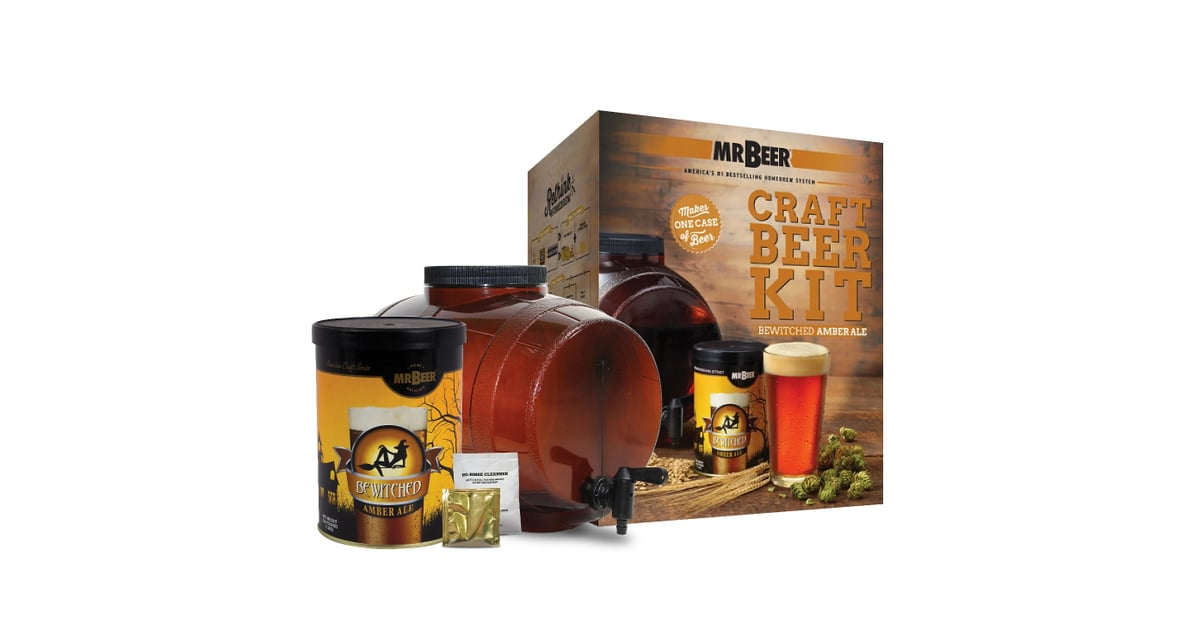Mr Beer Bewitched Amber Ale Craft Beer Making Kit 150 Last Minute Gifts You Can Get For Everyone On Your List All From Target Popsugar Family Photo 23