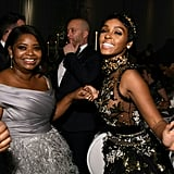 Pictured: Octavia Spencer and Janelle Monáe