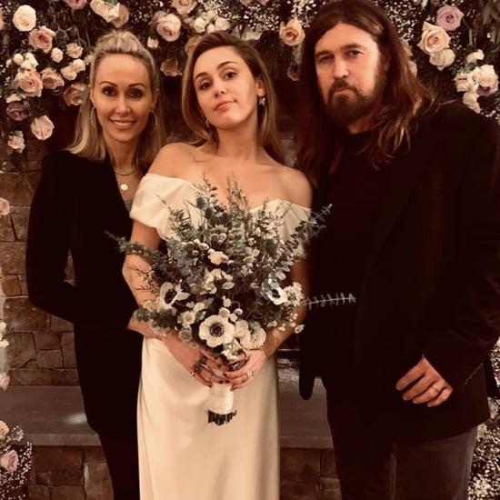 Miley Cyrus Wedding Dress