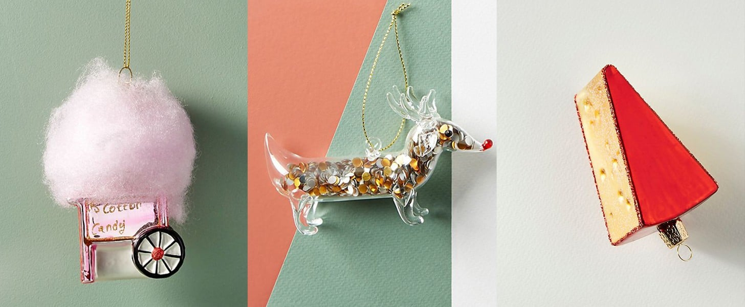 Anthropologie Christmas Baubles