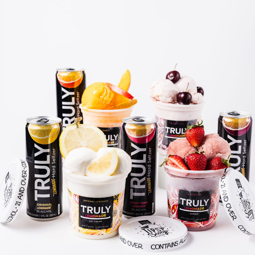 Truly and Tipsy Scoop Boozy Lemonade Ice Creams and Sorbets