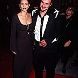 Courteney Cox et David Arquette en 1996