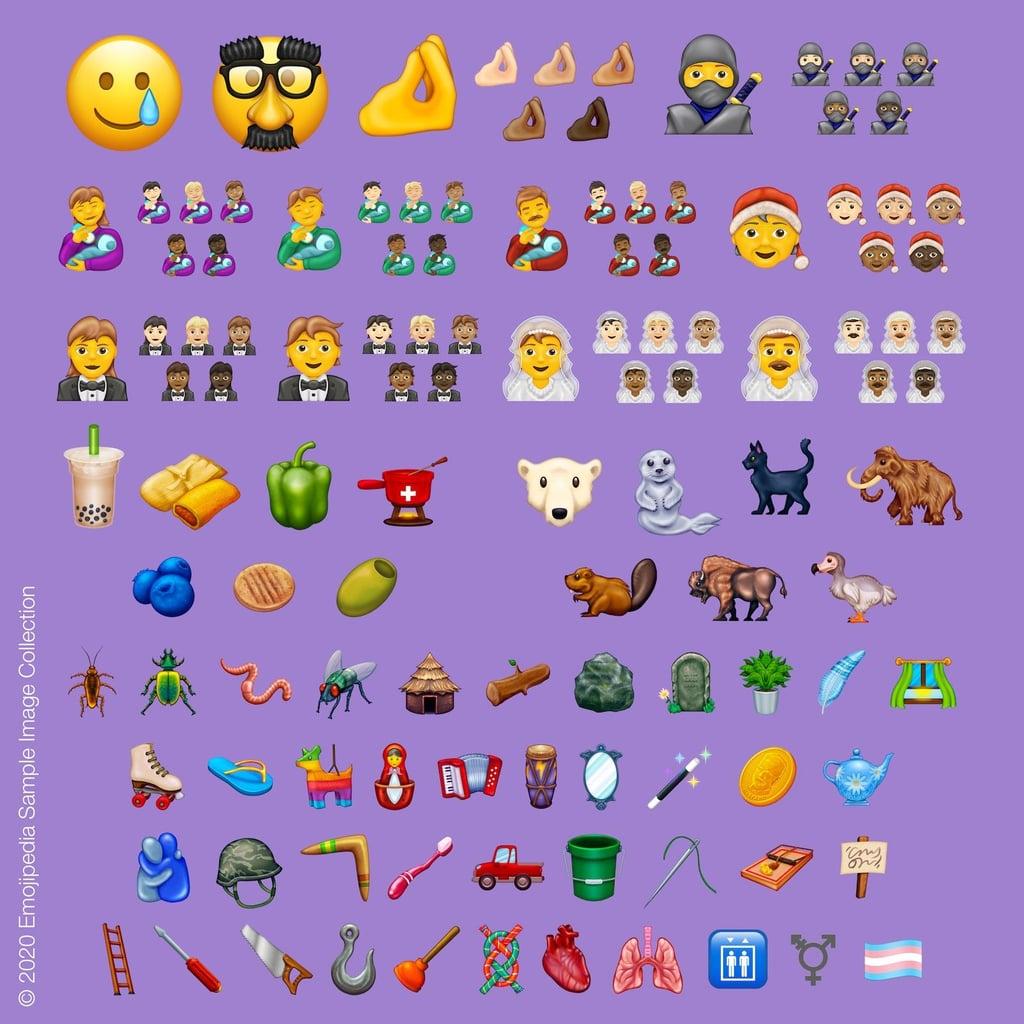 2020 New Emoji