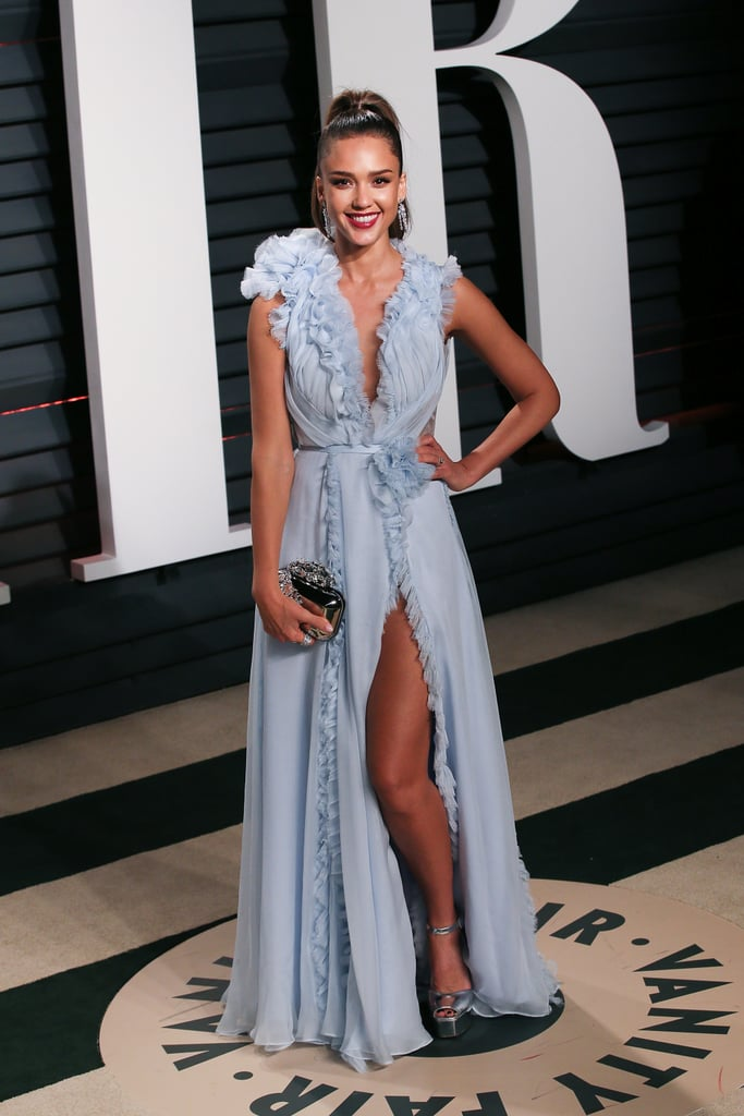 Jessica Alba's Dress at the 2017 Oscars Afterparty ...
