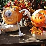 Mike Wazowski and Nemo Pumpkins