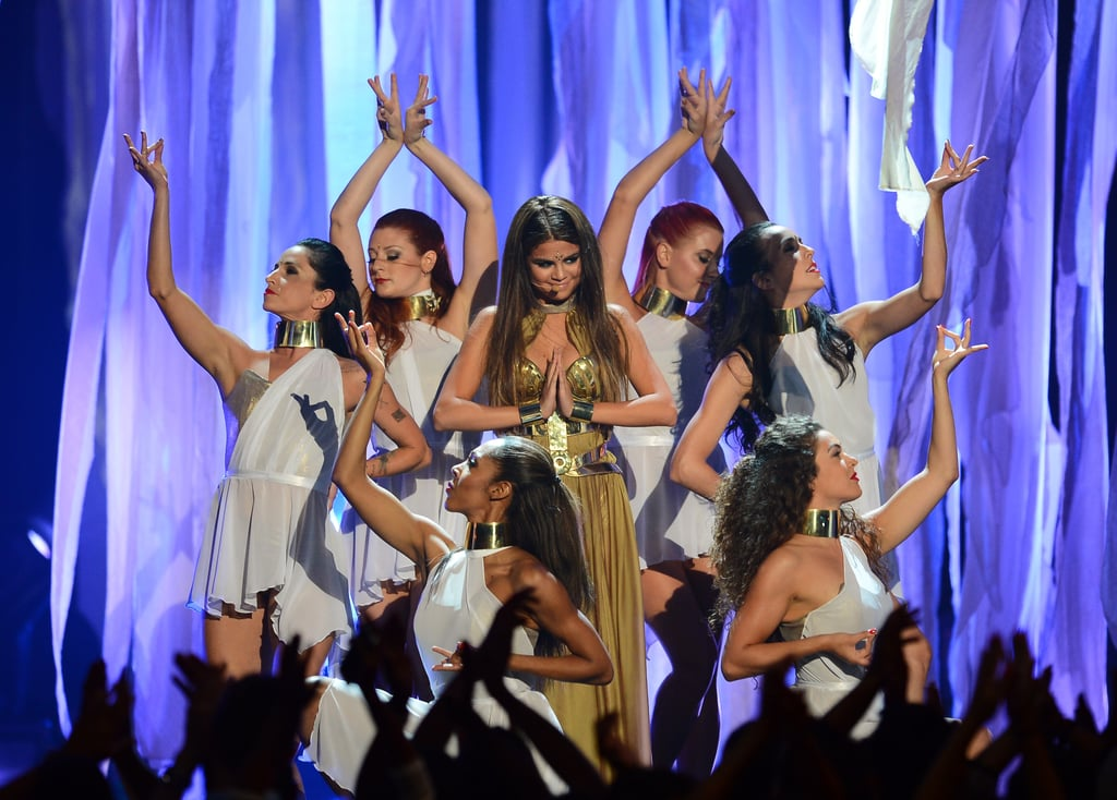 "Selena Gomez Says ""Come and Get It"" to Bieber Billboard Reunion"