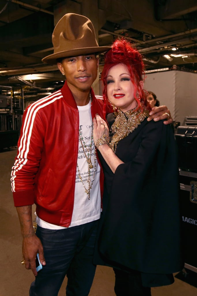 Pharrell, his hat, and Cyndi Lauper are all examples of things that just want to have fun.