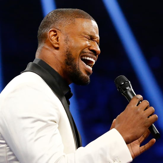 Jamie Foxx Singing National Anthem | Video