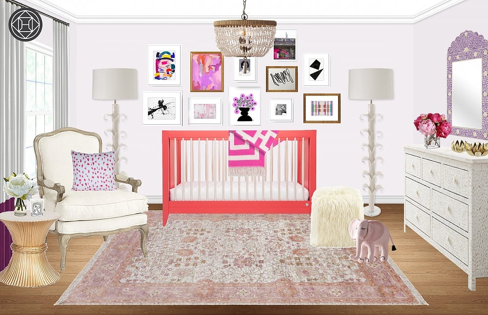 Celebrity Nursery Inspiration   POPSUGAR Home