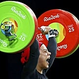 Egyptian weightlifter Sara Ahmed becomes the first Arab woman to win an Olympic medal in weightlifting
