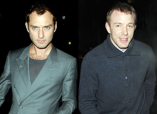 04/03/2009 Jude Law and Guy Ritchie