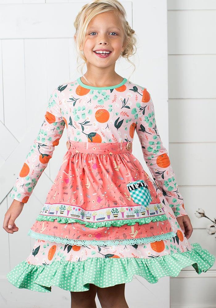 Sweet Clementine Dress