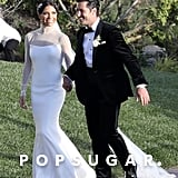 "Val Chmerkovskiy and Jenna Johnson wed in a gorgeous outdoor ceremony in LA in April 2019. They exchanged ""I dos"" in front of their family and friends, including Val's brother Maksim Chmerkovskiy, So You Think You Can Dance pro Gabby Diaz, Adam Rippon, Laurie Hernandez, Normani, Ginger Zee, Nikki Bella, and Artem Chigvintsev."
